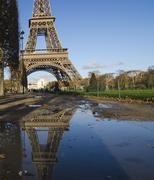 Symbols of Paris - stock photo