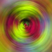 Abstract circles - stock photo