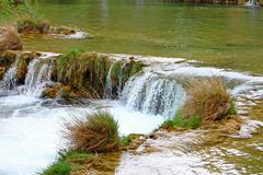 Stock Photo of Waterfall on Krka river