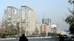 Street Scene at Chang'an Jie - stock footage