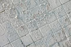 old white wall - stock photo