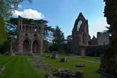 Dryburgh Abbey - stock photo