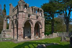 Dryburgh Abbey - stock photo