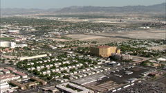 Nevada Las Vegas Scenery Stock Footage