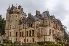 Belfast castle Stock Photos