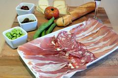 Tuscan Tagliere - stock photo