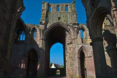 Stock Photo of Melrose Abbey