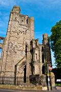 Kelso Abbey - stock photo