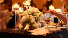 Generic footage from a wedding Stock Footage