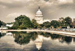 Stock Photo of Capitol in Washington, DC