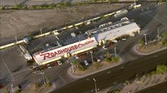 Las Vegas Casinos Roadhouse Stock Footage