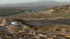 Stock Video Footage of Nevada Greenery Hills