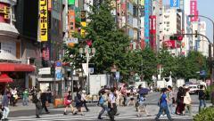 Kabukicho, Tokyo, Japan Stock Footage