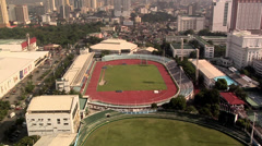 Rizal Memorial Stadium at Harrison Plaza Malate Manila Philippines Stock Footage