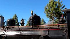 The Trochita Patagonia, whistle - stock footage