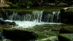 Peaceful mountain stream in North Georgia Mountains 03 - stock footage