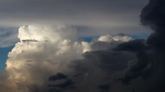 Stock Video Footage of Cumulonimbus clouds_3796