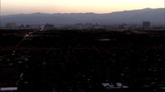 Las Vegas City Buildings Stock Footage