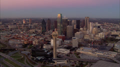 Dallas City Lights Stock Footage