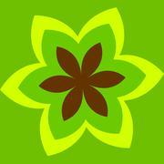Flower Tattoo - stock illustration