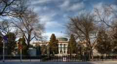 Russian Embassy Compound In Beijing Stock Photos
