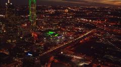 Traffic Freeway Dallas Stock Footage