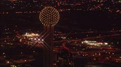 Dallas City Lights Stock Footage
