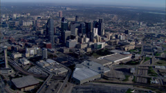 Dallas Skyline Daytime Stock Footage