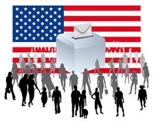 U.s. election Stock Illustration