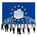 Stock Illustration of european elections