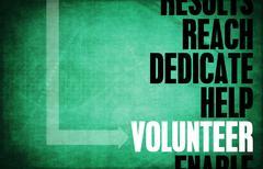 Stock Illustration of volunteer