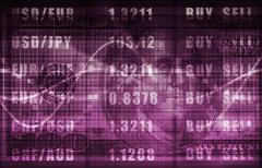 Investment portfolio Stock Illustration