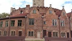 Wisloujscie Fortress, Gdansk, Poland Stock Footage