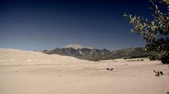 The Great Sand Dunes in Colorado Stock Footage