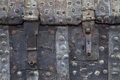 Old chest locks Stock Photos