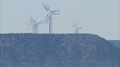 Dallas Texas Windmill Field Stock Footage