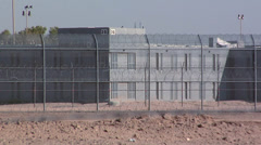 Arizona State Prison Complex in Perryville - stock footage