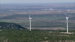 Windmill Fields Dallas Texas Stock Footage