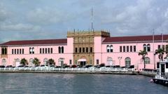 US Custom House San Juan Stock Footage