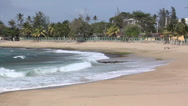 Stock Video Footage of Isabela Beach North West Side Puerto Rico