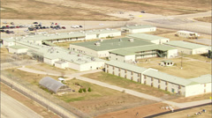 Dallas Texas Correctional Facility Stock Footage
