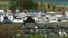 The Yacht Club at Fajardo Stock Footage