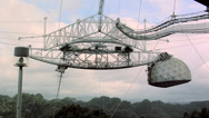 Stock Video Footage of The biggest Radio Telescope in the World at Arecibo
