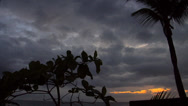 Stock Video Footage of Tropical Sunset in Rincon West Puerto Rico