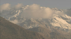 Pan of the Atlas mountains Stock Footage