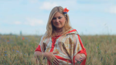Pregnant woman expectant mother 005 Stock Footage