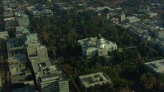 Sacramento City Waterways - stock footage