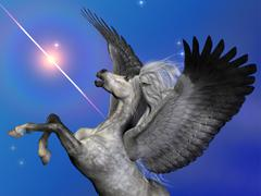Stock Illustration of starburst pegasus