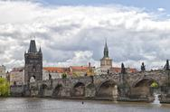 Stock Photo of prague charles bridge