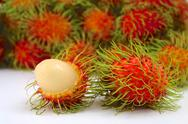 Stock Photo of rambutan